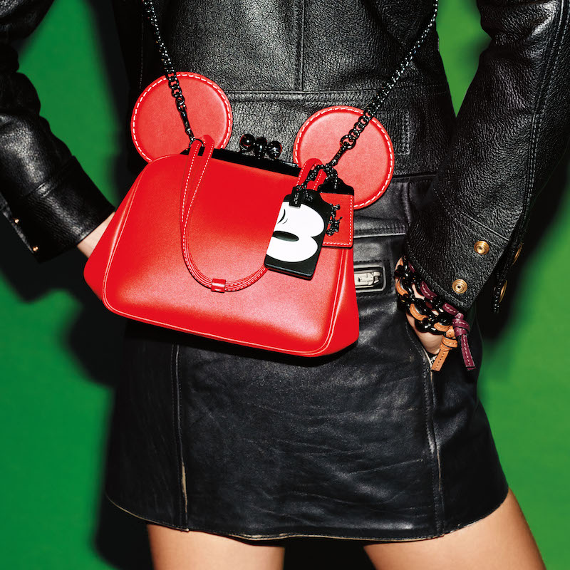 A look from the new Disney x Coach limited-edition collection.