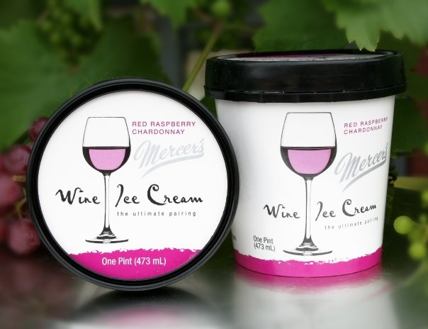 Photo via Mercer's Wine Ice Cream FB Page