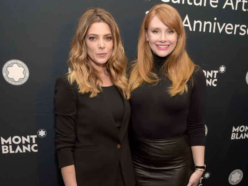 Actresses Ashley Greene and Bryce Dallas Howard