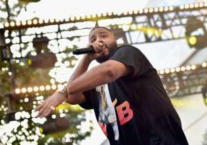 DJ Khaled performs onstage at EpicFest 2016
