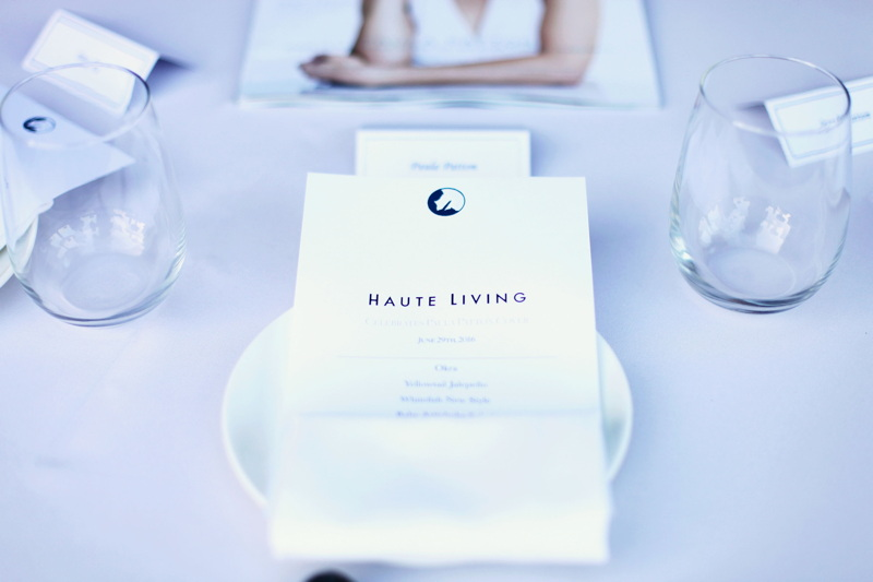 A general view of atmosphere at Haute Living's cover celebration dinner for Paula Patton