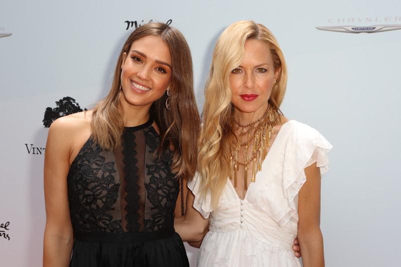 Jessica Alba and Rachel Zoe