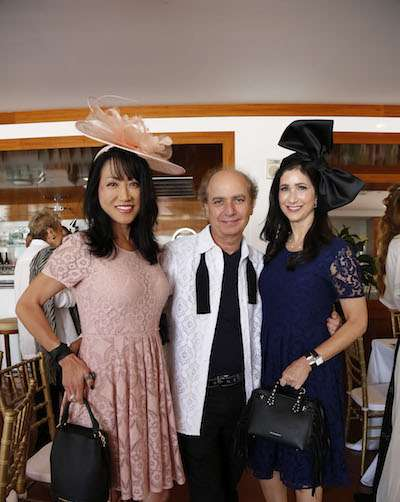 Ann King, Eduardo Marturet & Haley Sloman