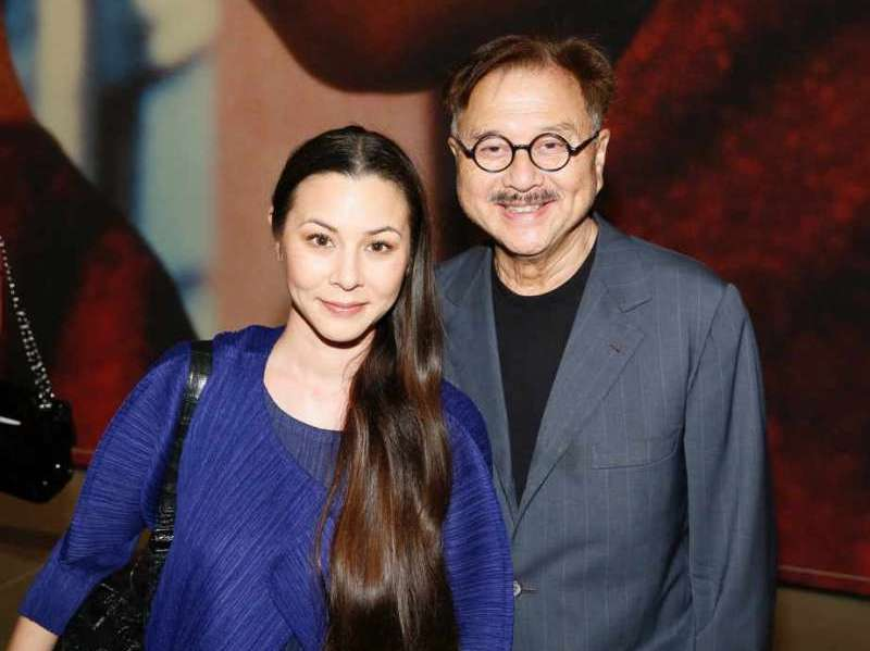 From left, China Chow and Michael Chow