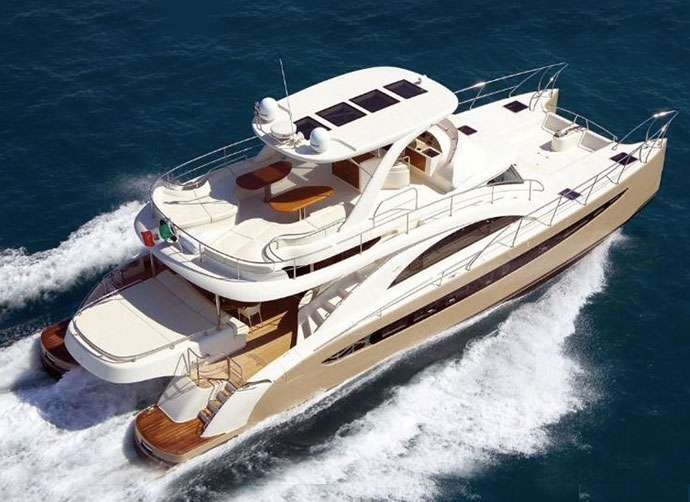 Charter a Power Cat Yacht - Miami