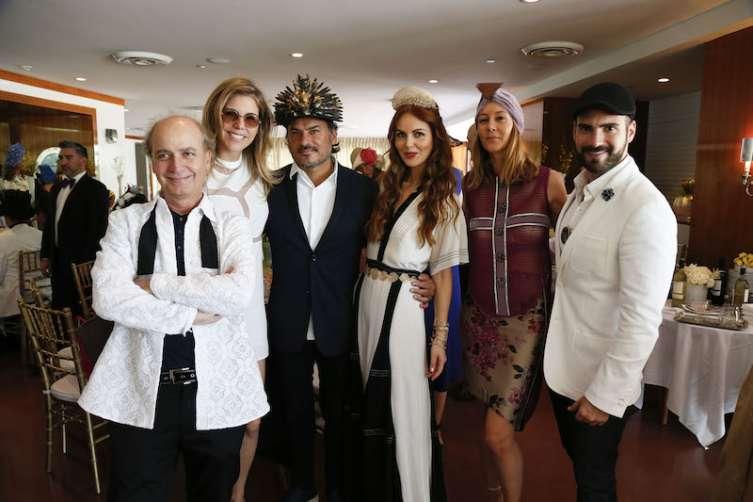 Eduardo Marturet, Bea Pernia, Oscar Carvallo, Athina Marturet, Lise Drouilly & Harry Levy