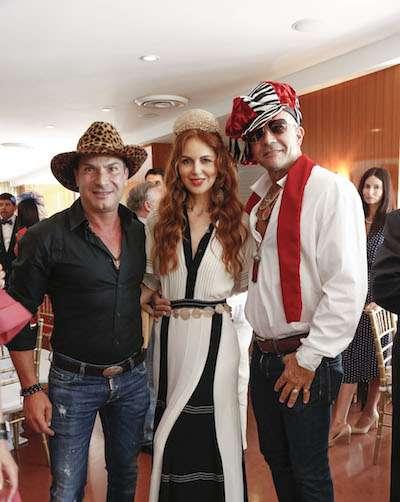 Farid Moussallem, Athina Marturet & Julio Gallo