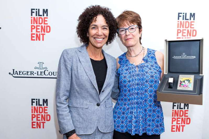LA Film Festival Director Stephanie Allain and cinematographer Maryse Alberti