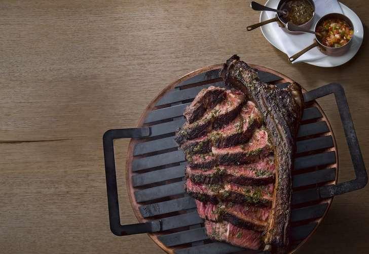 Los Fuegos Tomahawk Steak