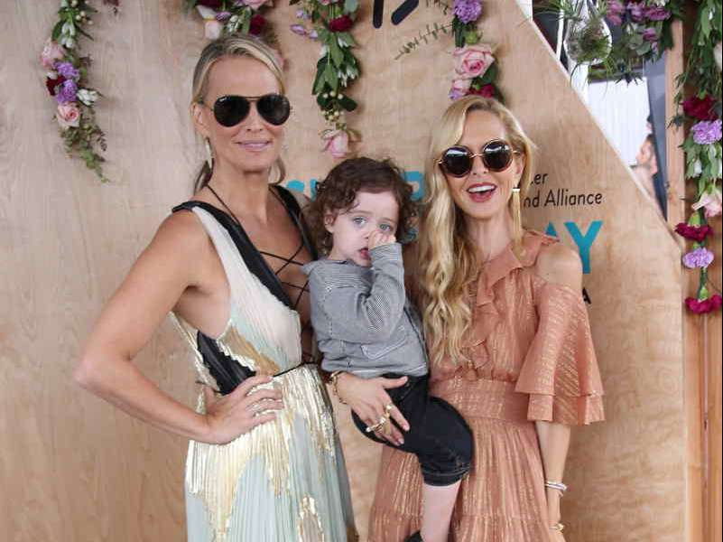 Molly Sims and Rachel Zoe attend OCRFA's 3rd Annual Super Saturday LA1