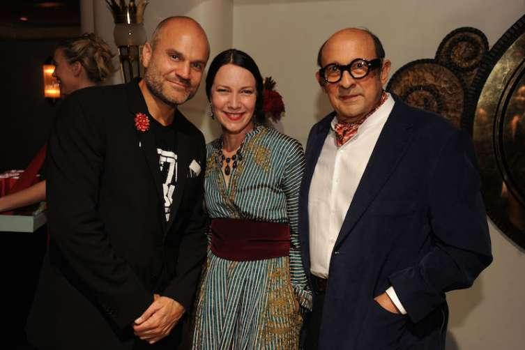 Pablo de Ritis, Adrienne Bon Haes, & Marvin Ross Friedman