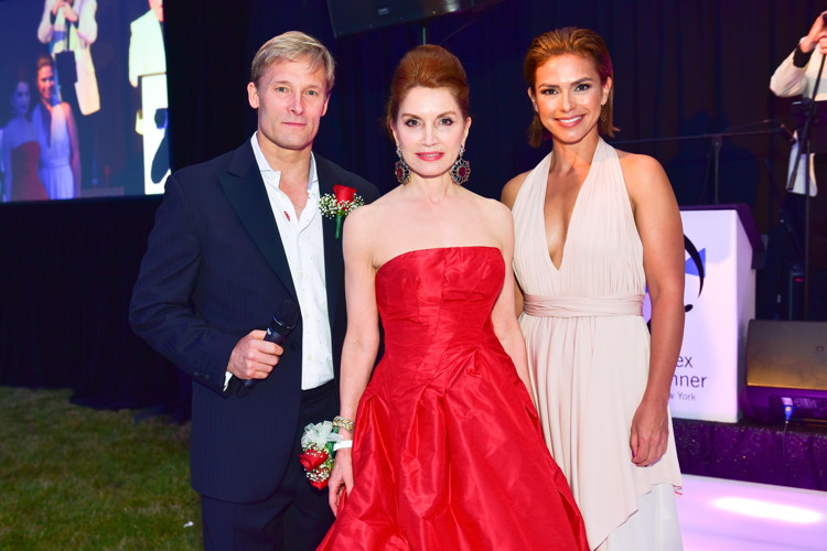 Lonnie Quinn, Jean Shafiroff, Kristine Johnson==20th Anniversary Hamptons Heart Ball - An Evening Under the Stars==The Hayground School, Bridgehampton, NY==June 25, 2016==©Patrick McMullan==Photo - Sean Zanni/PMC====