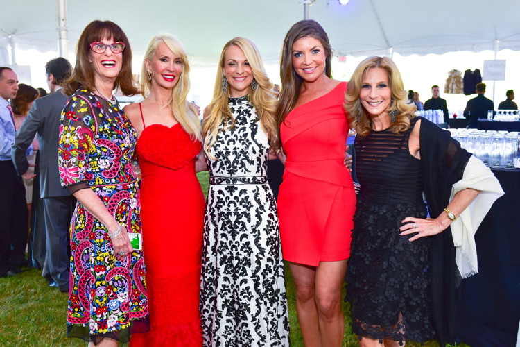 Meredith Cohen, Tracy Stern, Consuelo Vanderbilt Costin, Nicole Noonan, Randi Schatz==20th Anniversary Hamptons Heart Ball - An Evening Under the Stars==The Hayground School, Bridgehampton, NY==June 25, 2016==©Patrick McMullan==Photo - Sean Zanni/PMC== ==