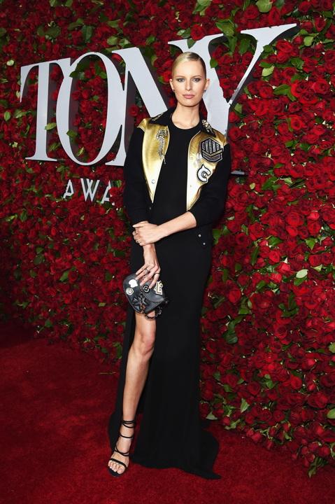 NEW YORK, NY - JUNE 12: Model Karolina Kurkova attends the 70th Annual Tony Awards at The Beacon Theatre on June 12, 2016 in New York City. (Photo by Larry Busacca/Getty Images for Tony Awards Productions) *** Local Caption *** Karolina Kurkova