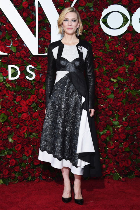 NEW YORK, NY - JUNE 12: Actress Cate Blanchett attends the 70th Annual Tony Awards at The Beacon Theatre on June 12, 2016 in New York City. (Photo by Dimitrios Kambouris/Getty Images for Tony Awards Productions) *** Local Caption *** Cate Blanchett