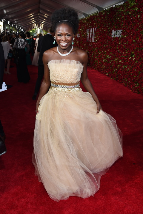 NEW YORK, NY - JUNE 12: Actress Zainab Jah attends the 70th Annual Tony Awards at The Beacon Theatre on June 12, 2016 in New York City. (Photo by Larry Busacca/Getty Images for Tony Awards Productions) *** Local Caption *** Zainab Jah