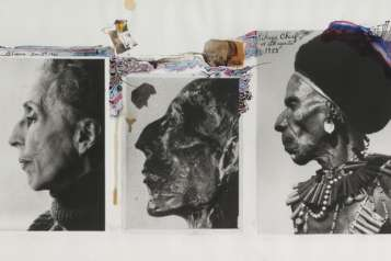 RE GH2_Peter Beard_Karen Blixen, Dec.3, Ramses, Kikuyu Chief Dageretti