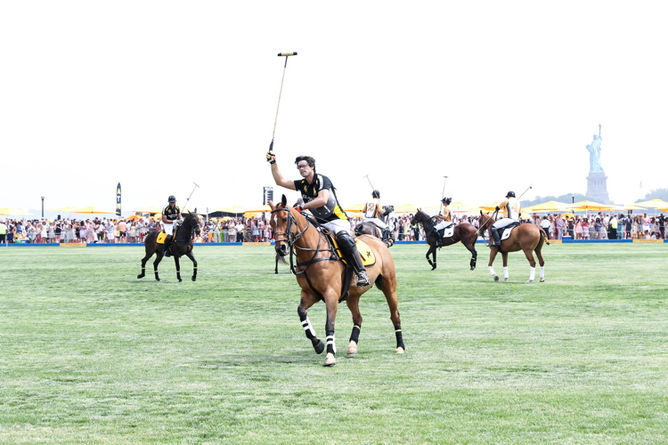 Nacho Figueras in action. Photo: BFA