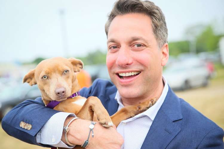 Thom Filicia design world a listers at hamptons ad party to animal rescue