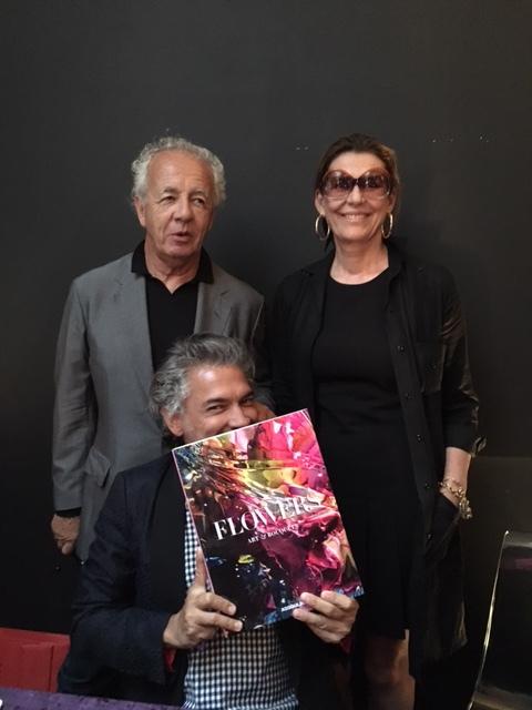 Gilles Bensimon, Carlos Mota and Martine Assouline