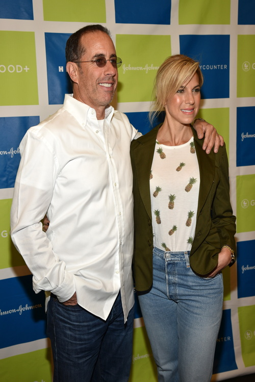 NEW YORK, NY - JUNE 08: Actor Jerry Seinfeld and Jessica Seinfeld attend Jessica and Jerry Seinfeld host GOOD+ Foundation's 2016 Bash Sponsored by Beautycounter, Hearst and Johnson & Johnson on June 8, 2016 in New York City. (Photo by Bryan Bedder/Getty Images for GOOD+ Foundation)