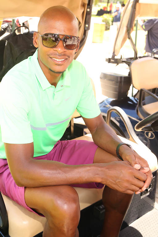 Ray Allen ready to hit the green at The 12th Annual IRIE Weekend Celebrity Golf Tournament benefitting the Irie Foundation.