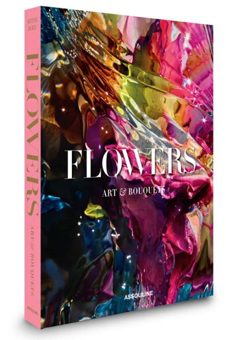 Re BOOKFlowers Art and bouquets_3D cover ©Gilles Bensimon