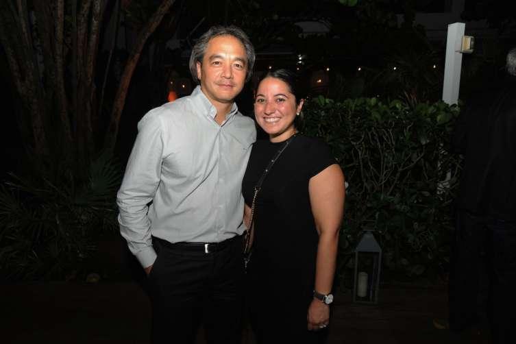 Rick Ueno, & Michelle Rodriguez