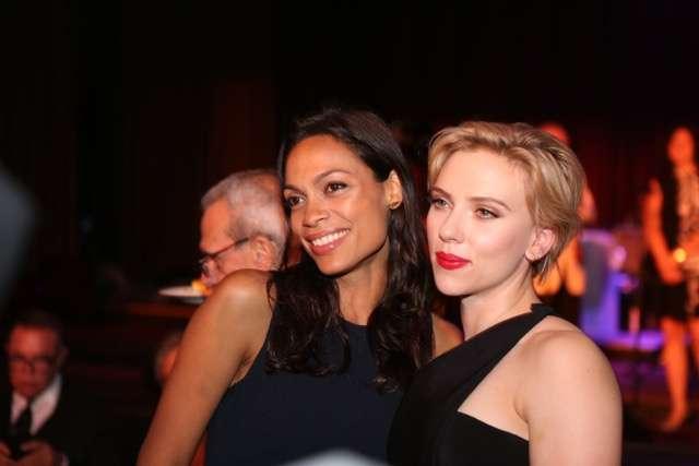 Rosario Dawson and Scarlett Johansson