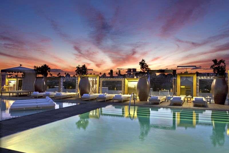 SLS Hotel Altitude Pool