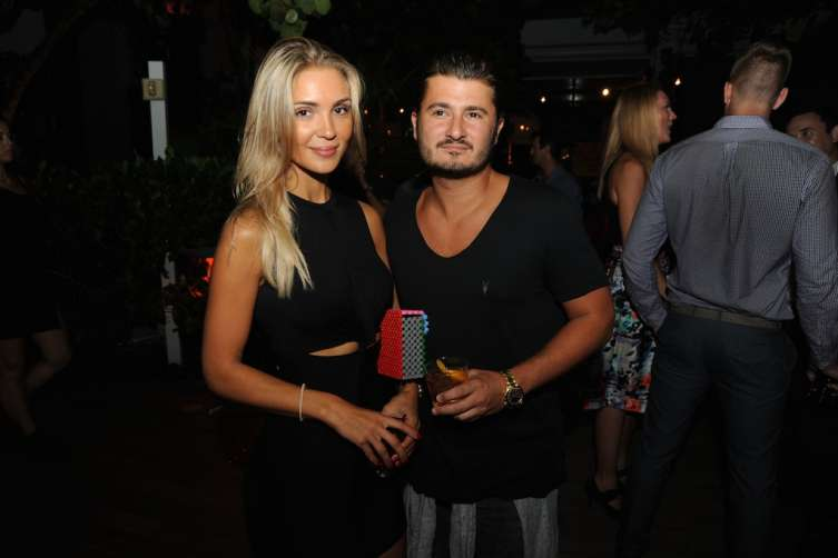 Senja Alexova & John Temerian