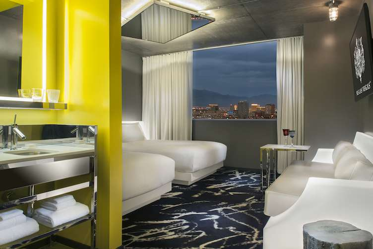 Story Tower at SLS Las Vegas  Double Beds