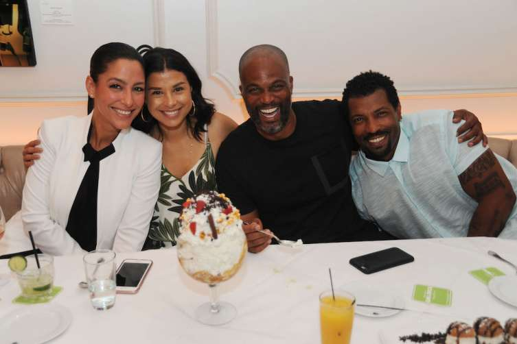 Violet Camacho, Vanessa Spencer, Chris Spencer, & Deon Cole