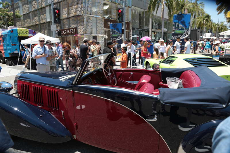 The WInner's Circle at the 23rd annual Rodeo Drive Concours d'Elegance