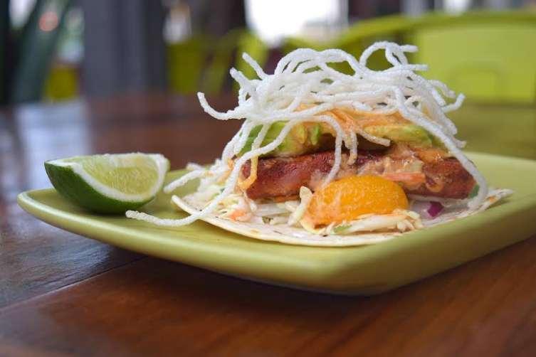 #1 Ahi Tuna Taco