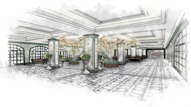 Park MGM Lobby Rendering