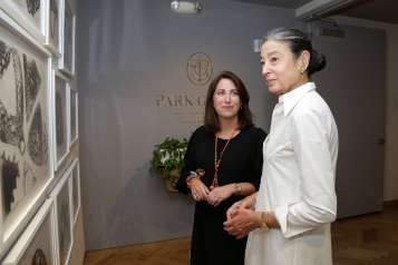 Patricia Hanna and Michele Oka Doner