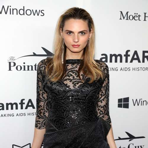 NEW YORK, NY - JUNE 09: Model Andreja Pejic arrives at the 7th Annual amfAR Inspiration Gala on June 9, 2016 in New York City. (Photo by Neilson Barnard/Getty Images for Harry Winston)
