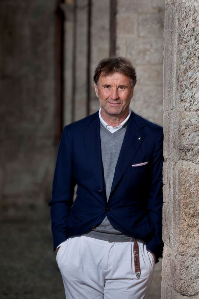 91467309175 A One on One with the King of High-End Cool: Brunello Cucinelli