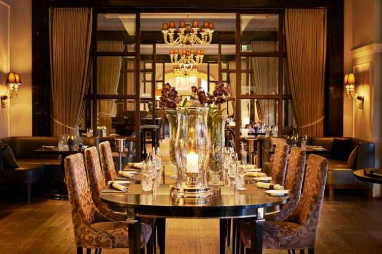 The Royal Suite dining room