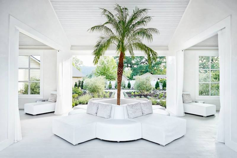 The spa at Solage Calistoga