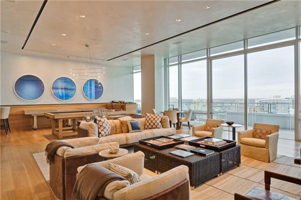 Victory Park S Palatial Penthouse In The W Hotel Residences