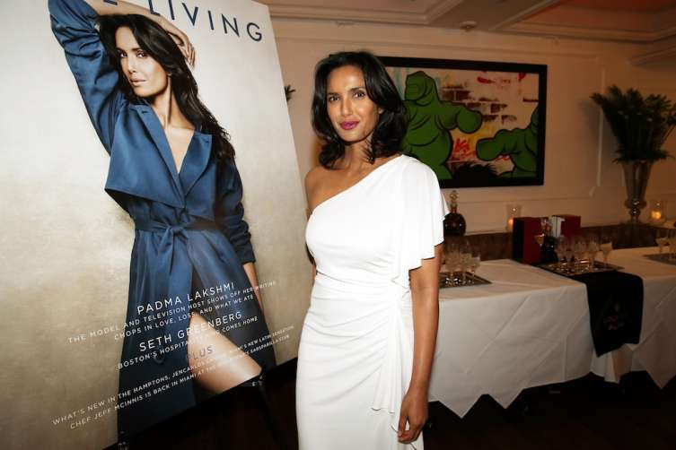 NEW YORK, NY - JULY 06: Padma Lakshmi attends the Rolls-Royce, Louis XIII, And JetSmarter Celebration of the Padma Lakshmi Haute Living Cover at Bagatelle on July 6, 2016 in New York City. (Photo by Johnny Nunez/Getty Images for Haute Living)
