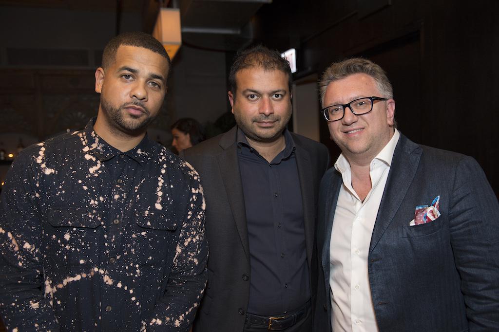 Christian, Kamal, Alex Katz