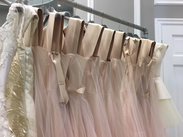 Custom Bridesmaides dresses by Oscar Carvallo