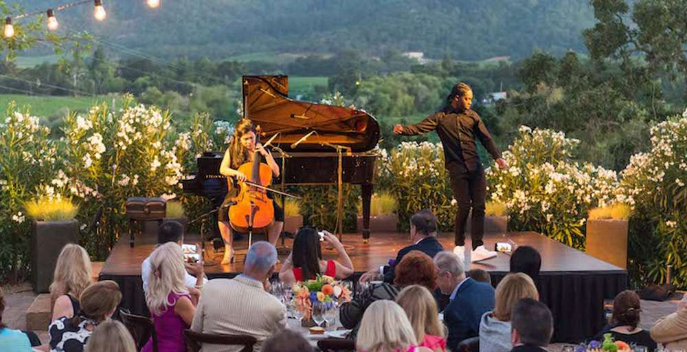 Festival Napa Valley Brings Celebs and Singers to Wine Country