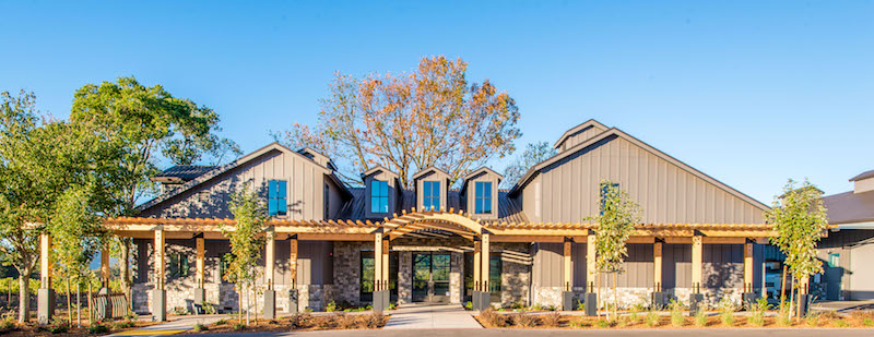 Goosecross tasting room and visitor center