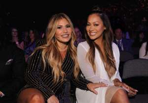 Loren Ridinger and LaLa Anthony at Shop.com