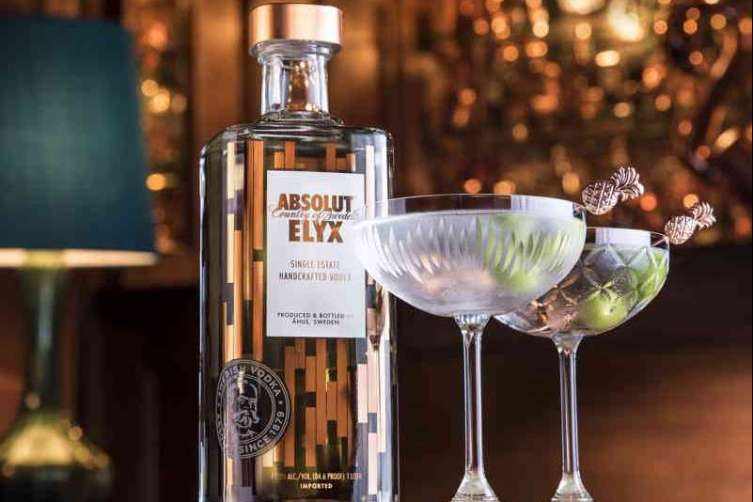 Absolut Elyx martini