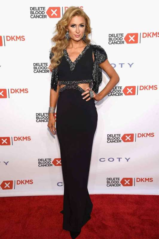 Paris Hilton attends the 10th Annual Delete Blood Cancer DKMS Gala at Cipriani Wall Street